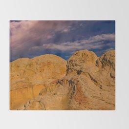 White Pocket, Vermilion Cliffs - II Throw Blanket