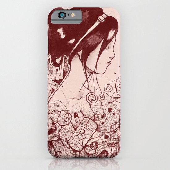 Fiction and Beauty iPhone & iPod Case