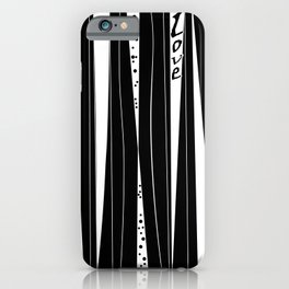 With love . iPhone Case