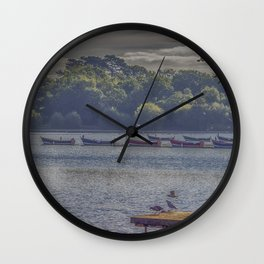 Petersfield Lake. Wall Clock