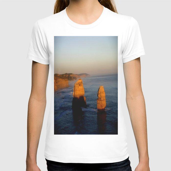 Glowing Rock Stacks T-shirt