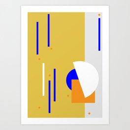 Dots it. Art Print