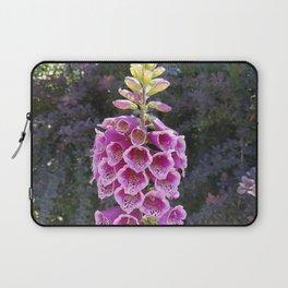 Gloves in summer!  Foxglove, Digitalis purpurea Laptop Sleeve