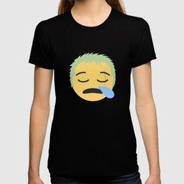 Roronoa Zoro Emoji Design T-shirt