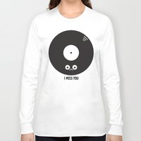 record Long Sleeve T-shirts featuring For the Record by David Olenick