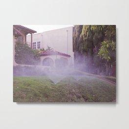 Sprinklers Metal Print