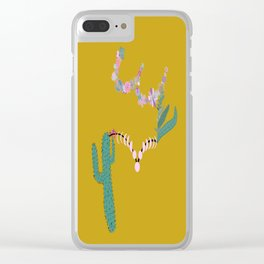 Let Yourself Bloom in Moss Clear iPhone Case