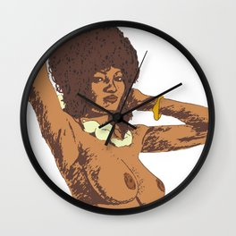 Coffy Pam Grier Wall Clock
