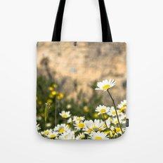 Spring Camomile Tote Bag