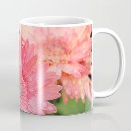 Pink Gerber Daisy Trio Coffee Mug
