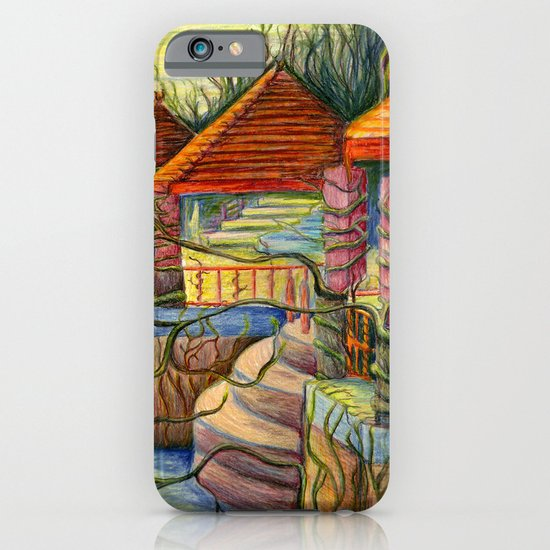 Pulling You In - Colored Pencil Drawing iPhone & iPod Case