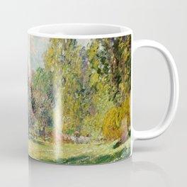 The Parc Monceau by Claude Monet Coffee Mug