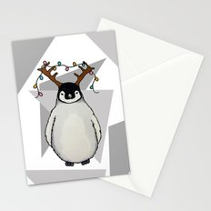 Penguin Christmas Stationery Cards