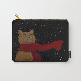 Knitted Wintercat Carry-All Pouch