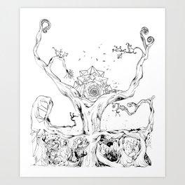 BANYAN Art Print