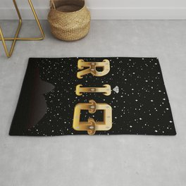 The Face of Rio - Silhouette Rug