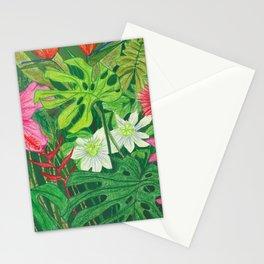 Hawaiian Garden Stationery Cards