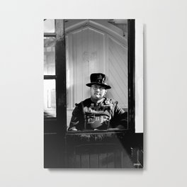 Beefeater Metal Print