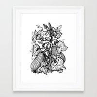 pumpkin Framed Art Prints featuring Pumpkin by Irina Vinnik