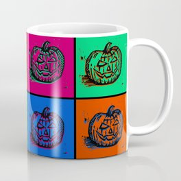 Pop Art Pumkins Coffee Mug