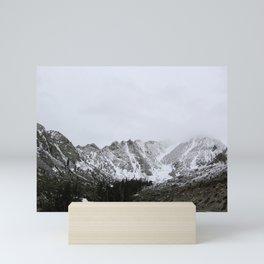 Eastern Sierras in the Snow Mini Art Print
