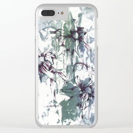 Bellis Perennis Clear iPhone Case