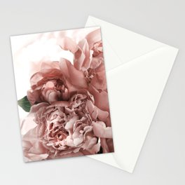 Blush Pink Floral Stationery Cards