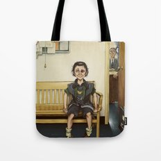 Loki Outside the Principal's Office Tote Bag