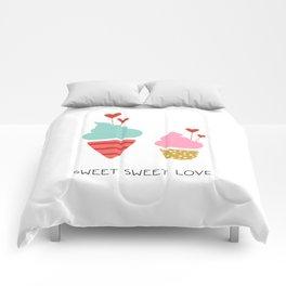 Ice Cream lovers Comforters