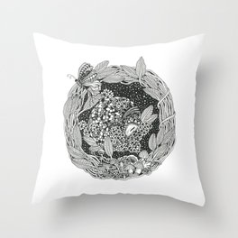 Pangolin's Dream Throw Pillow