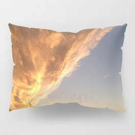 The Face in the Clouds  Pillow Sham