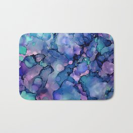 Abstract Alcohol Ink Painting 2 Bath Mat
