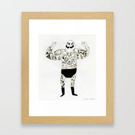 strongman Framed Art Print