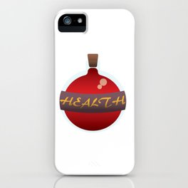 Health Potion iPhone Case