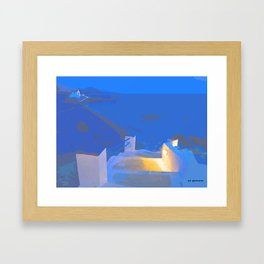 Ibiza Framed Art Print