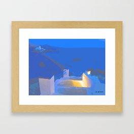 Ibiza Framed Art Print