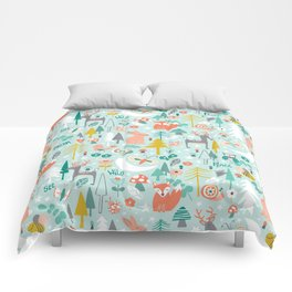 Forest Of Dreamers Comforters