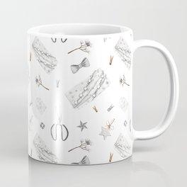 Silver christmas wrapping Coffee Mug