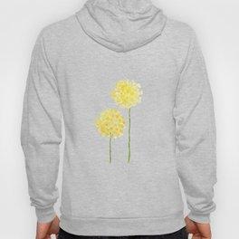 two abstract dandelions watercolor Hoody