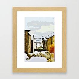 Winter View - Heptonstall Framed Art Print