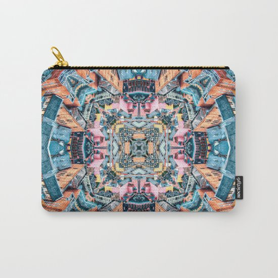 City In A Circle Carry-All Pouch