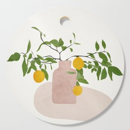 Lemon Branches Cutting Board