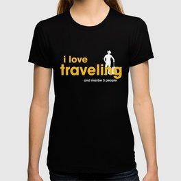 I Love Traveling T-shirt