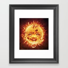 The Sun (Young Star) Framed Art Print