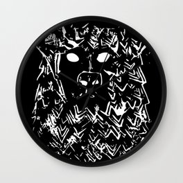 Bear With It Wall Clock