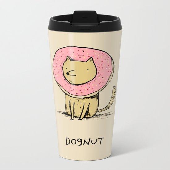 Dognut Metal Travel Mug