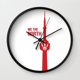 WE THE NORTH [ TORONTO RAPTORS ] Wall Clock