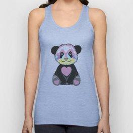 I Love Pandas Unisex Tank Top