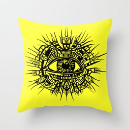 ALL-SEEING DEITY - EYE OF PROVIDENCE Throw Pillow