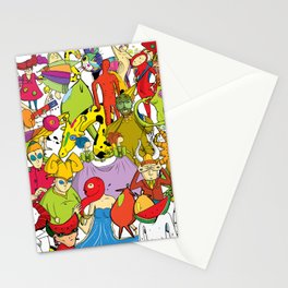 Collage Chez Stationery Cards